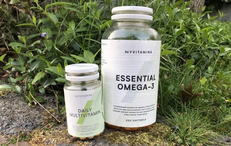Vitamine droog trainen