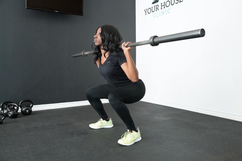Fitness oefeningen zichtbaar resultaat
