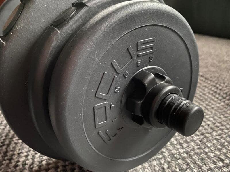 dumbbell set focus fitness 20 kg review