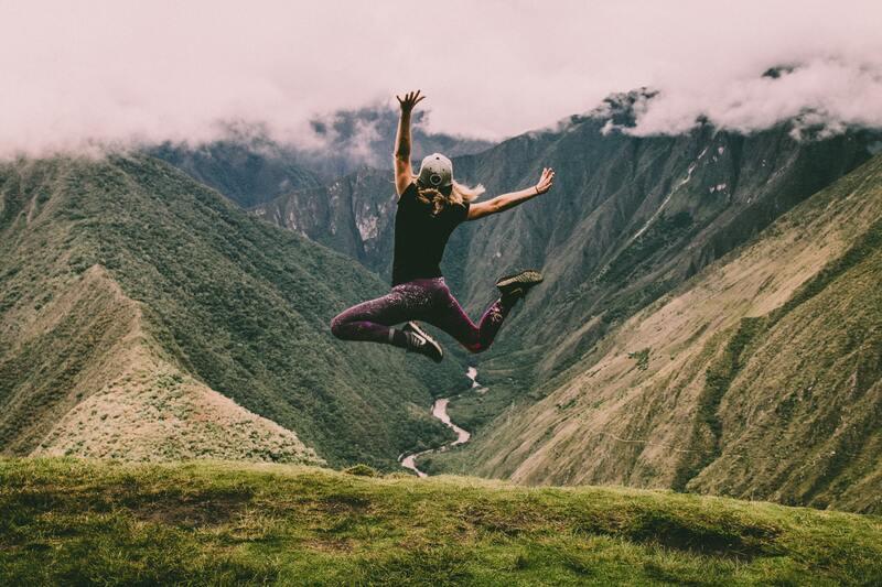 springen in de lucht