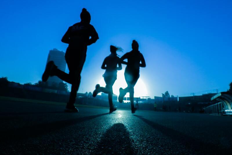 elke ochtend hardlopen
