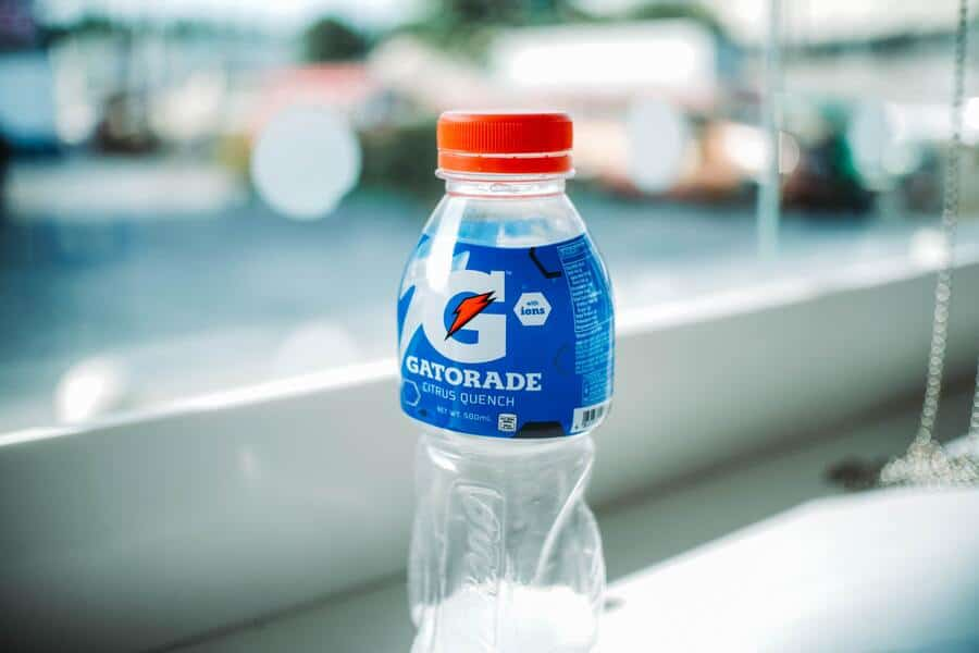 flesje mineraalwater