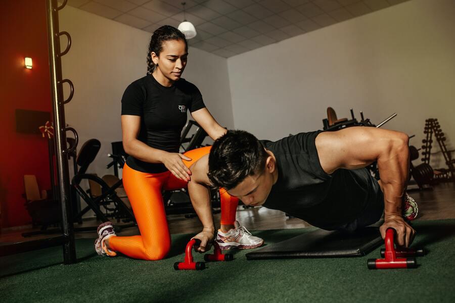 push ups krachtsporter