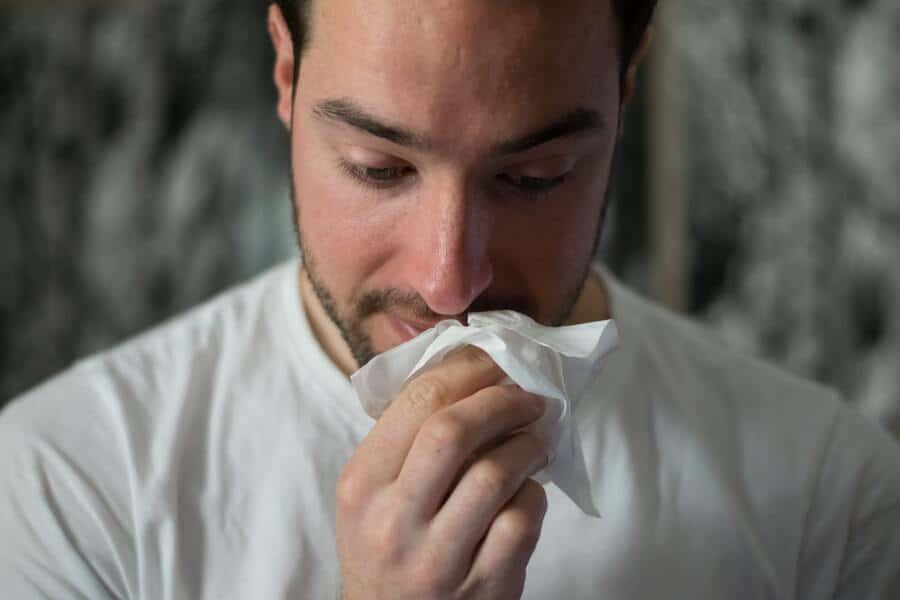 verkouden zijn