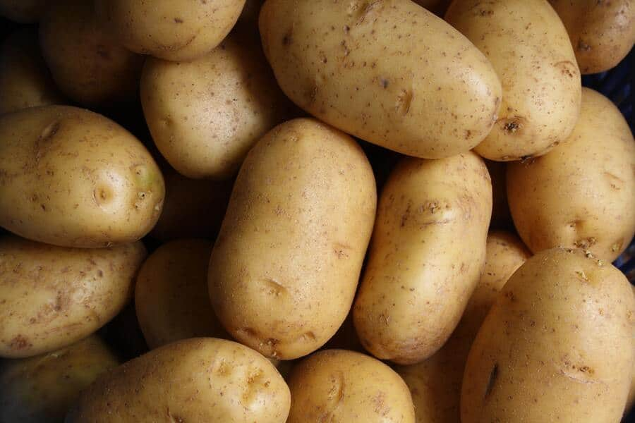 aardappelen of zoete aardappelen